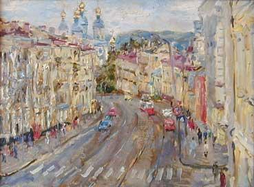 Смоленский пейзаж, 1988 г., 46х67, х., м