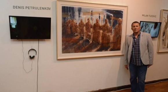 Работа в экспозиции выставки