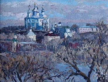 Весна. Смоленск, 1999г., холст, масло