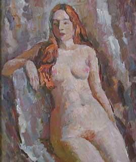 Обнаженная, 1997г., 73х89, холст, масло