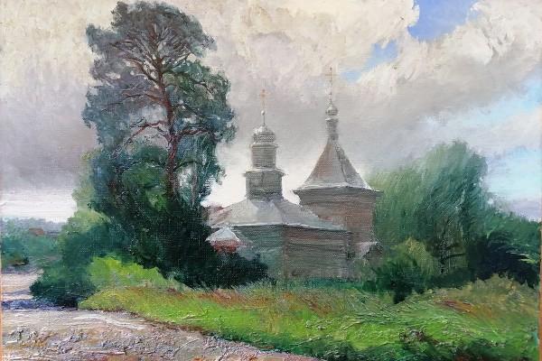 "Александр Анатольев ""Хмурый день в Княжино"""